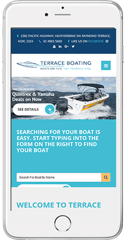 terrace boating mobile